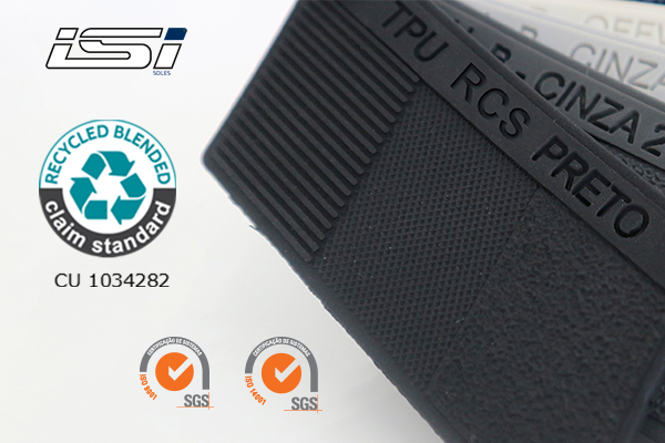 We have recycled TR and TPU certified according to the RCS - Recycled Claim Standard!